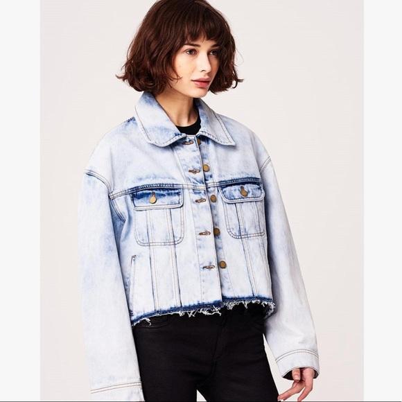 2165637b0e67 NWT DL1961 Zoe Tully boyfriend denim jean jacket
